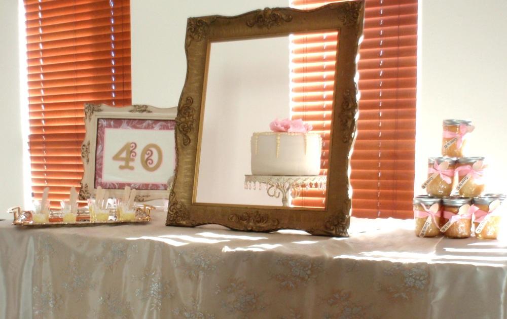 Yanneris Genao, cake, shabby dessert table