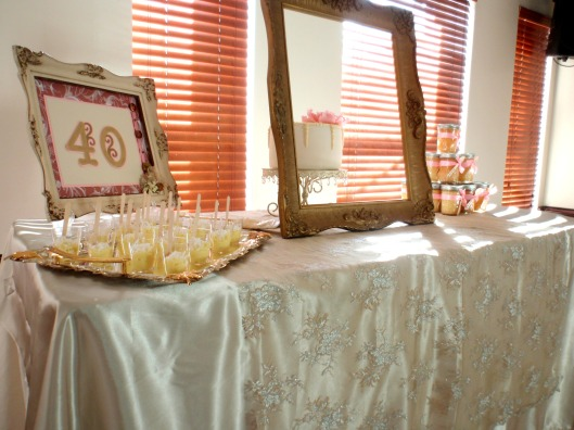 Shabby chic dessert table, Yanneris Genao