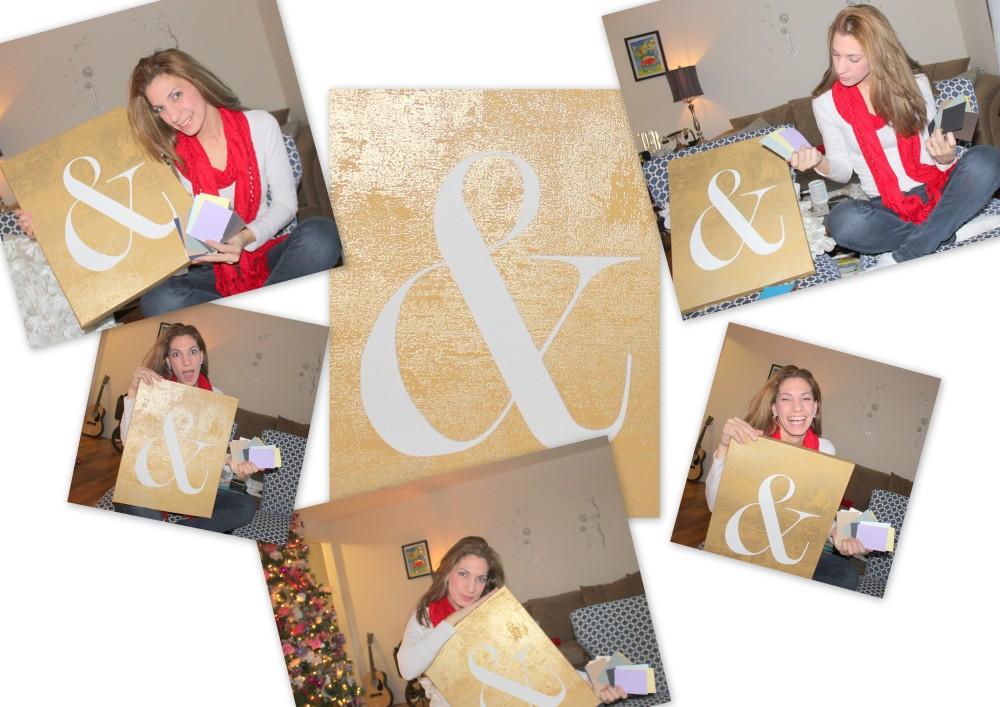D&E Papel post collage