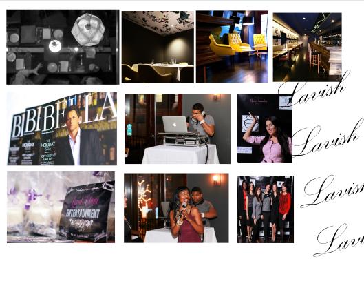 lavish collage